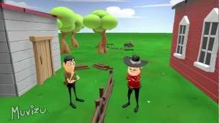 Animação Skank - A cerca