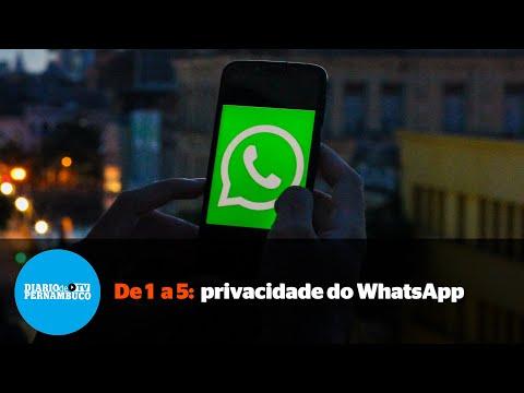De 1 a 5: como as mudanças no WhatsApp afetam sua privacidade