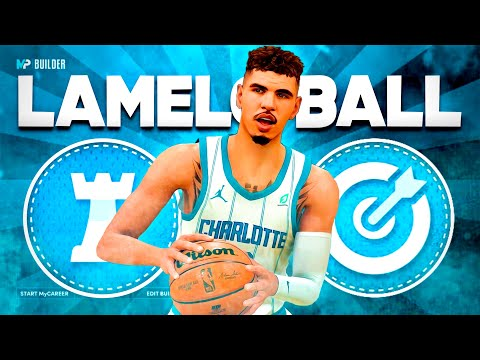 BEST LAMELO BALL BUILD ON NBA 2K21 NEXT GEN! BEST POINT GUARD PLAYMAKER BUILD!