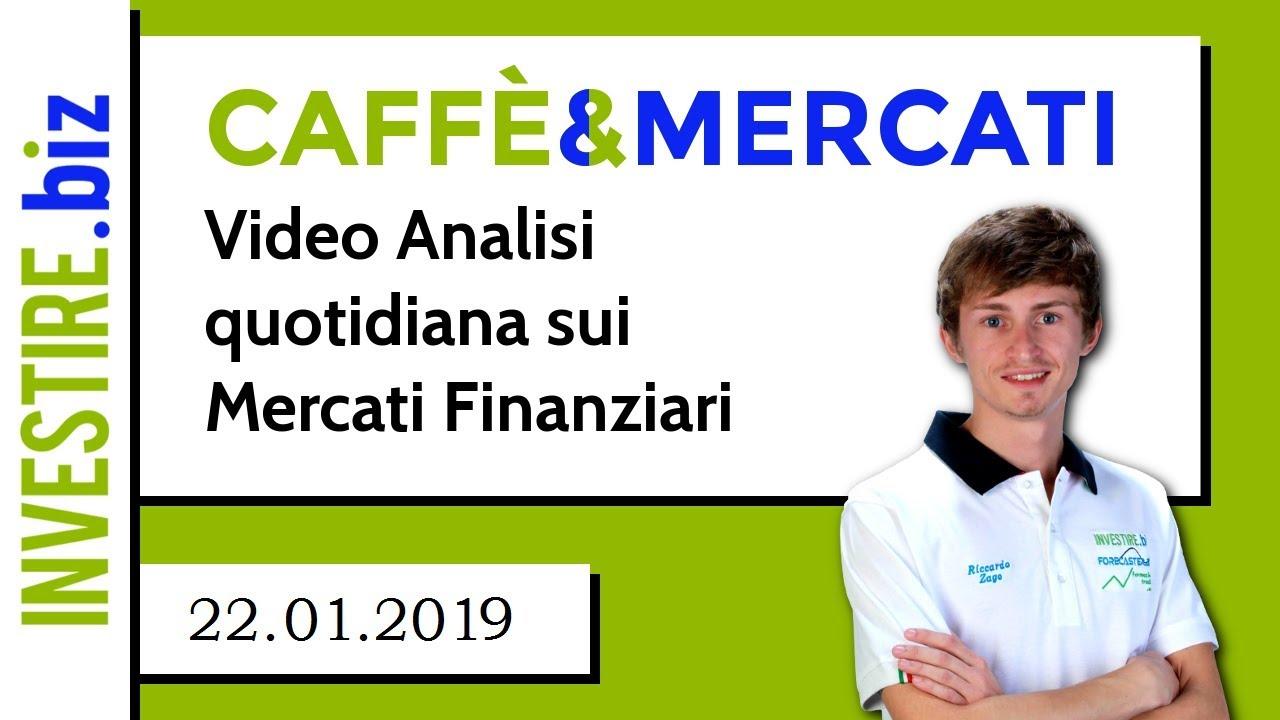 Caffè&Mercati - Il Gold rimbalza dal supporto a 1280