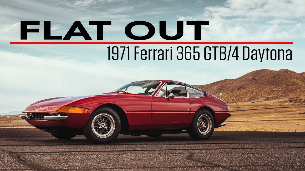 Flat Out: 1971 Ferrari Daytona sings a 12-cylinder power ballad thumbnail