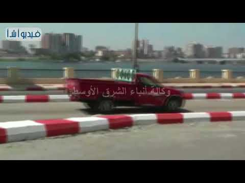 بالفيديو: محافظ سوهاج يتفقد تعديل مسارات الحركة المرورية بشارع كورنيش النيل الشرقى بمدينة سوهاج