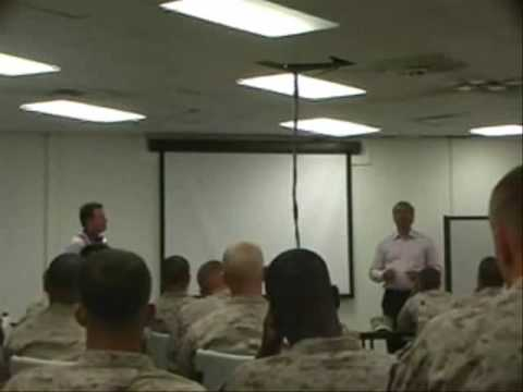 Doug Dvorak & Neal Petersen Motivate Guantanamo Troops
