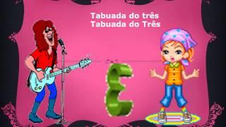 Tabuada do Três - Cantando a Tabuada
