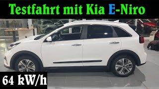 E-Niro EV Testfahrt Elektroauto mit 64 kw/h Akku