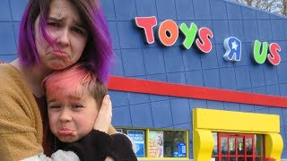 Last Toy Hunt At TOYS R US