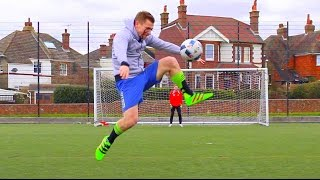 Football Skills and Goals with Theo Baker!