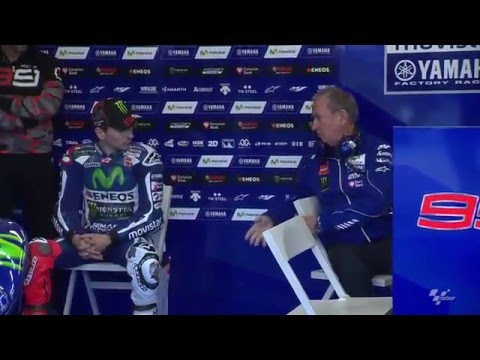 Lorenzo & Rossi preview the #FrenchGP