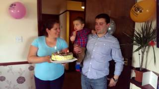Kristian Kolev 1 birthday