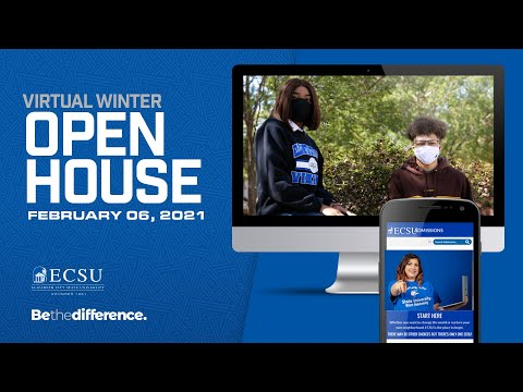 ECSU Virtual Winter Open House 2021