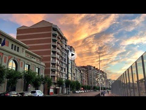 Un amanecer de nubes de colores