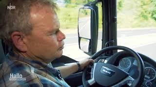 Unterwegs mit einem Lkw Fahrer