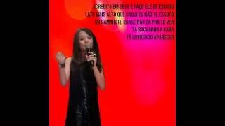 Larissa Manoela - Beijinho no Ombro - Com Letra.