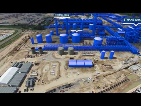 Watch Sasol's ethane cracker and derivatives project come to life