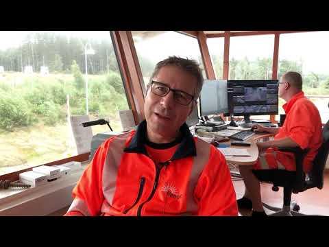 Renovas IT-chef gör praktik på Fläskebo deponi