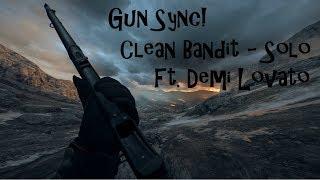 Gun Sync | Clean Bandit - Solo (Ft. Demi Lovato) | Battlefield 1