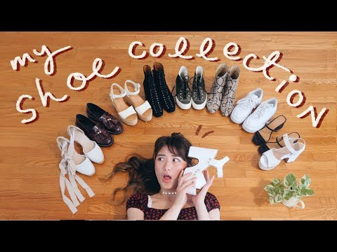 Video: MY SHOE COLLECTION