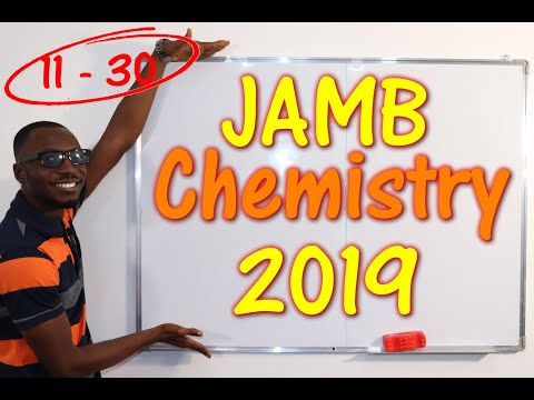 JAMB CBT Chemistry 2019 Past Questions 11 - 30