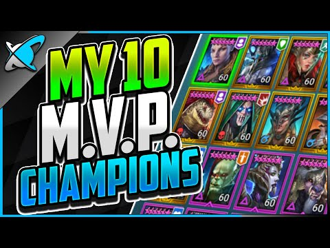 """MY 10 """"MVP"""" 