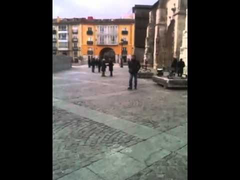 Entering Old Burgos