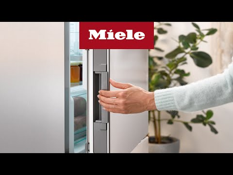 Miele Click2Open:  K200000 de nya kylfrysarna från Miele