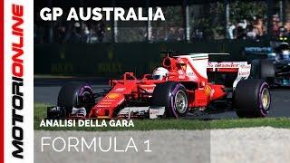 F1 GP Australia 2017: Analisi della Gara