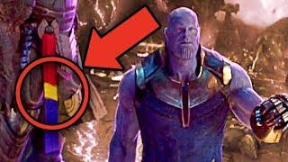 Avengers Infinity War CAPTAIN MARVEL EASTER EGG? (Black Order Theory) width=