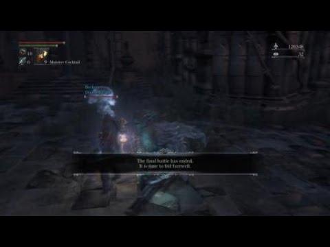 Bloodborne  boss fight  the one reborn