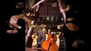 Luigi Legnani - Canzonetta Italiana - 4th and 5th Variations - Cello Guitar duet