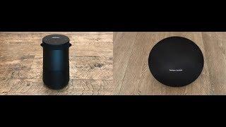 Bose Revolve Plus vs Harman Kardon Onyx 4   Soundcheck