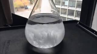 Storm Glass Crystal - Predict the Weather!