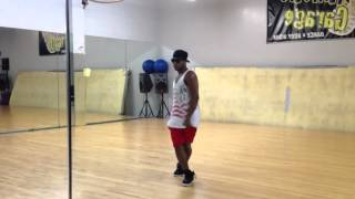 Chris Brown Bassline choreography