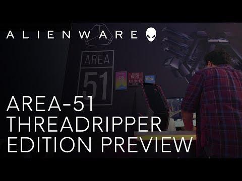 Alienware Area-51 Threadripper Edition: E3 Preview