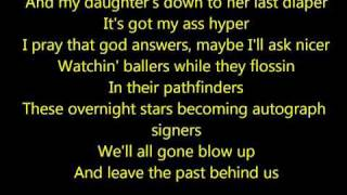 Eminem - Rock Bottom (lyrics)