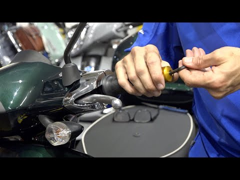 How to Install Rizoma Bar Ends on your Vespa Primavera or Sprint