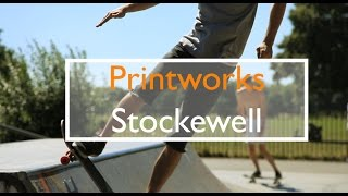 Tour of the Printworks. Stockwell. London SW9.