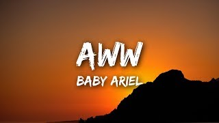 "Baby Ariel - ""Aww"" (Lyrics / Lyrics Video)"