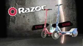 Razor E300 Scooter Eléctrico Patín Escúter Adultos Jóvenes 24v De Poder 100 Kg
