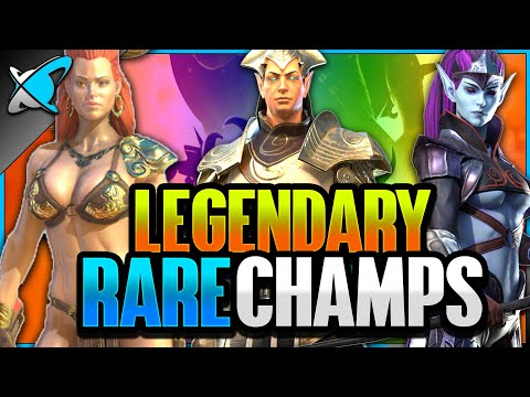 """""""FIVE"""" Legendary RARE Champions 