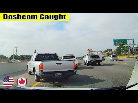 Ultimate North American Car Driving Fails Compilation: The One With Volkswagen Driver