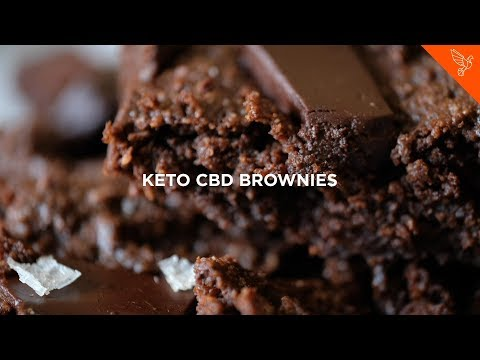 Keto Salted CBD Brownies - Recipe Video