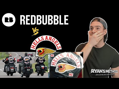 ANOTHER LAWSUIT! Redbubble vs HELL'S ANGELS💀