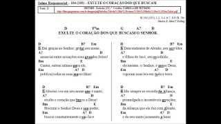 SALMO 104 (105) - EXULTE O CORAÇÃO