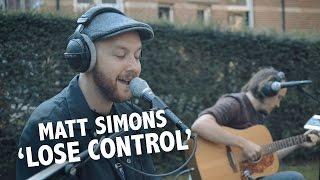 Matt Simons - 'Lose Control' Live @ Ekdom In De Ochtend