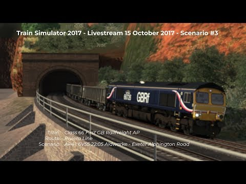 AP41 6V55 2205 Aldwarke  Exeter Alphington Road Livestream 15102017