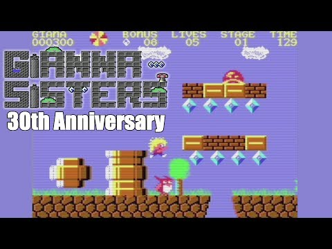 Giana Sisters 30th Anniversary (2017) | Preview | C64 | Homebrew World