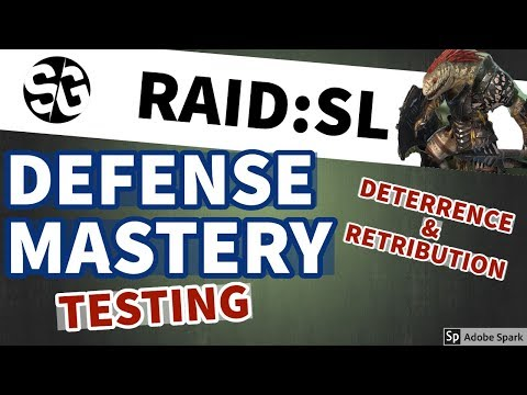 [RAID SHADOW LEGENDS] DEFENSE MASTERY TEST WITH RHAZIN NM CB 23.5MIL