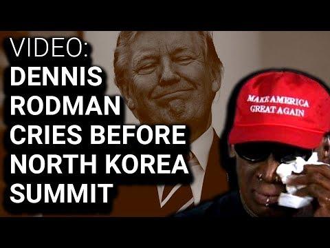 Dennis Rodman Outrageous Interview at Trump Kim Jong-un Summit