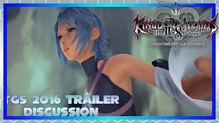 KINGDOM HEARTS HD 2 8 Final Chapter Prologue: TGS 2016 Trailer | Reactions and Thoughts [DISCUSSION]