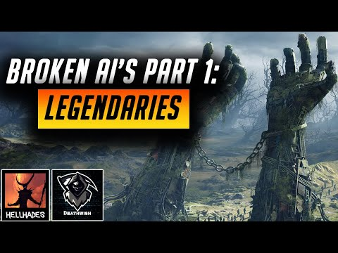 RAID: Shadow Legends | CHAMPIONS WITH BROKEN AI's, PART 1: LEGENDARIES | INTRODUCING DEATHWISH!